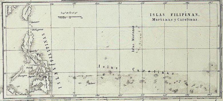 Mapa-de-las-islas-Filipinas-islas-Marianas-y-Carolinas.