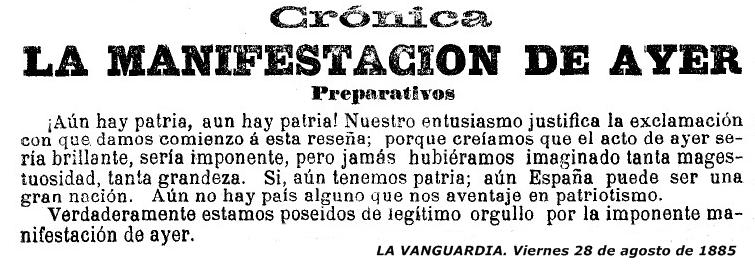 Reseña-La-VANGUARDIA.-28-08-1885-Pagina-nº-5548