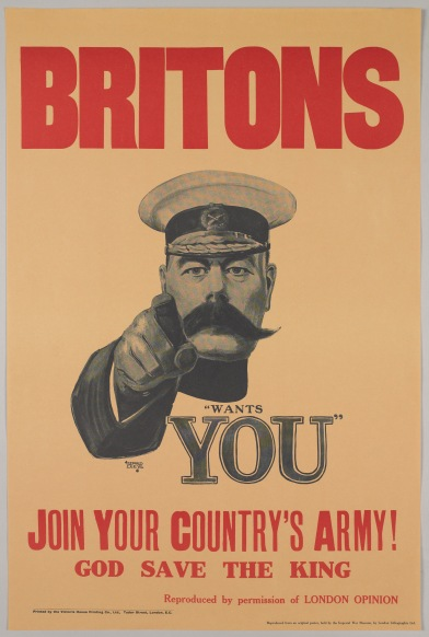 Britons Wants you. 1914.