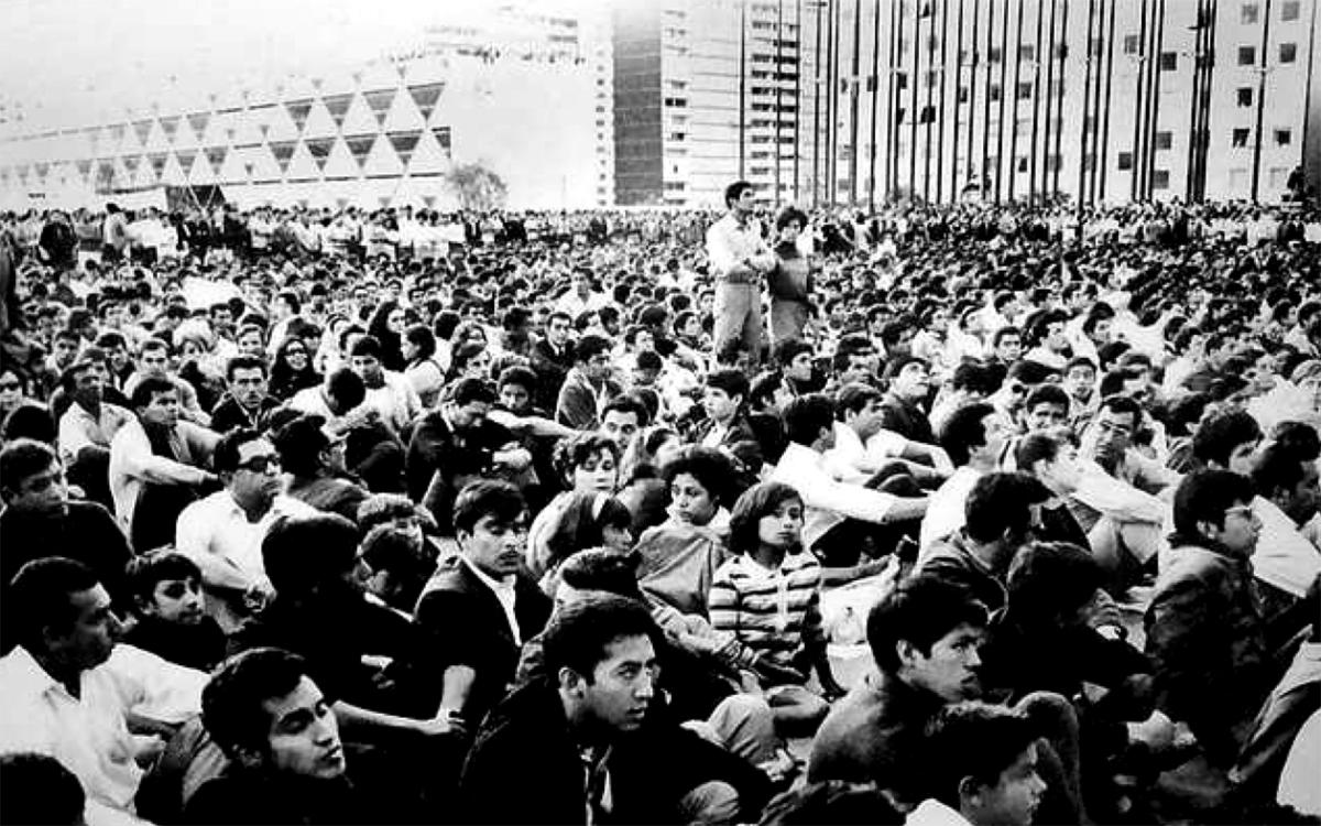 2 DE OCTUBRE DE 1968, MÉXICO.