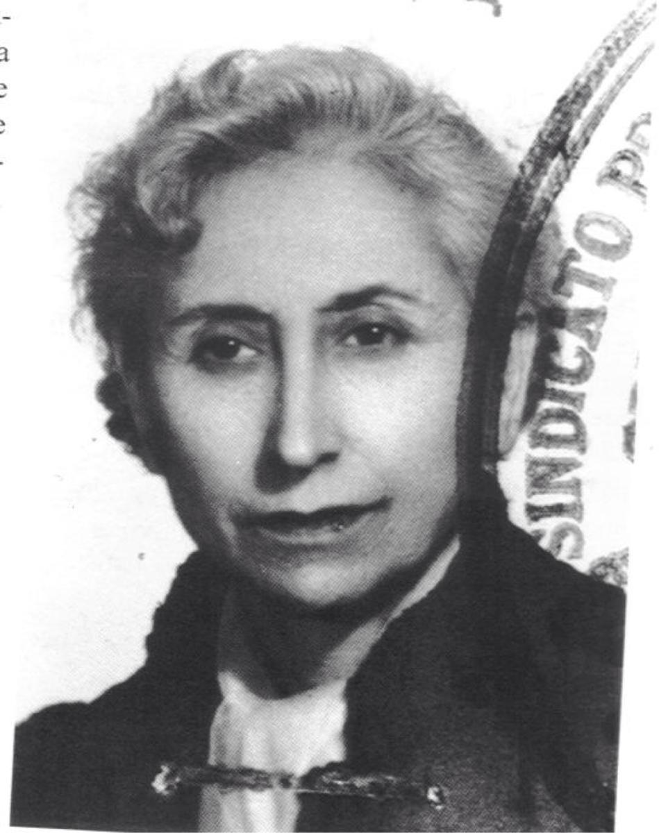 Lucía Sánchez Saornil, poeta, periodista y fundadora de Mujeres Libres.