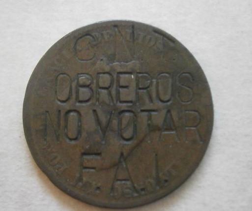 Obreros no votar moneda cnt fai