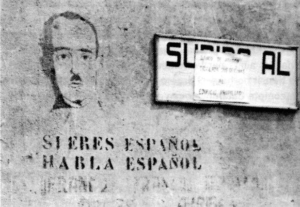 LA PERSECUCIÓ LINGÜÍSTICA A L'ESPANYA FRANQUISTA (1936-1939) (I)