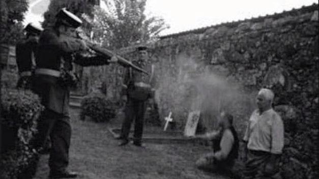 El fusilamiento de Germinal (narrativa #memoriahistoria)
