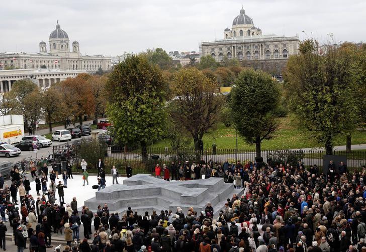 Viena inaugura monumento a desertores da Segunda Guerra Mundial