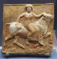 Terracota etrusca procedente de la Campanian Princeton U Art Mus.