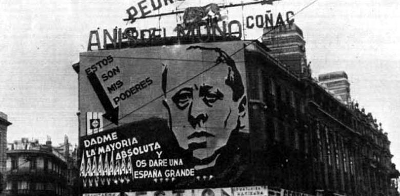 Cartel-electoral-con-José-María-Gil-Robles-DP