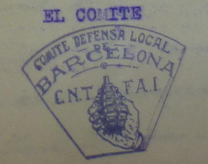 Orígens dels comitès de defensa de la CNT