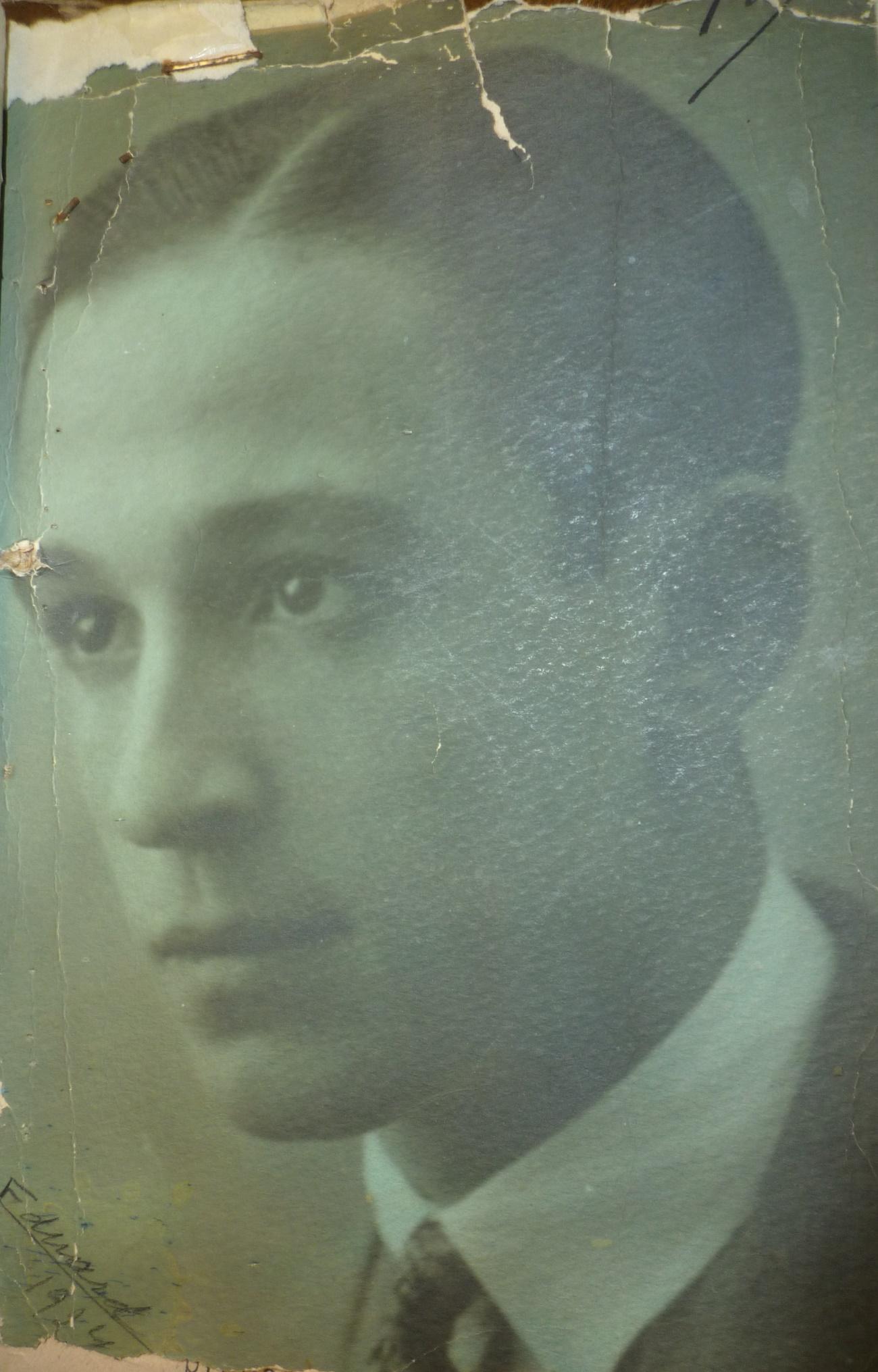 Biografía de Justo Bueno (1907-1944)