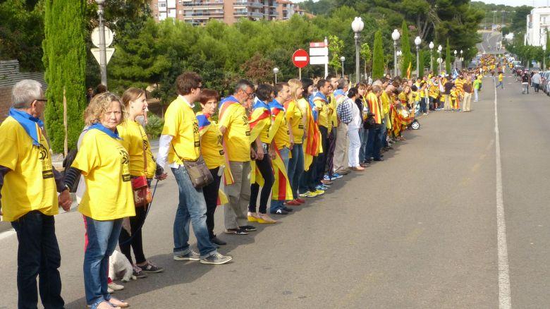 Tram_235_de_la_via_catalana_per_la_independència_(section_235_of_the_Catalan_Way_towards_independence).JPG