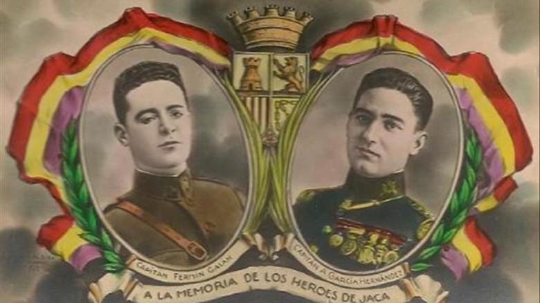 sublevacion de jaca en 1930  Fermin Galan y Garcia Hernandez