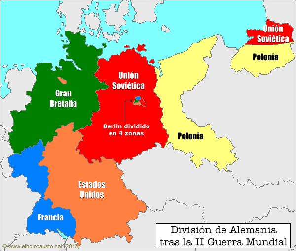 division de Alemania 1945