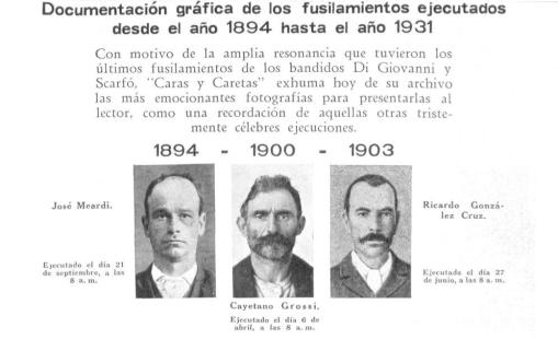 Comienzo de la nota publicada el 14 de febrero de 1931