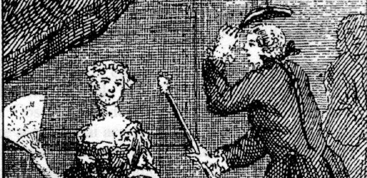 Cápsulas Feministas: Catterina Vizzani. Una mujer pegada a su dildo de cuero con correas